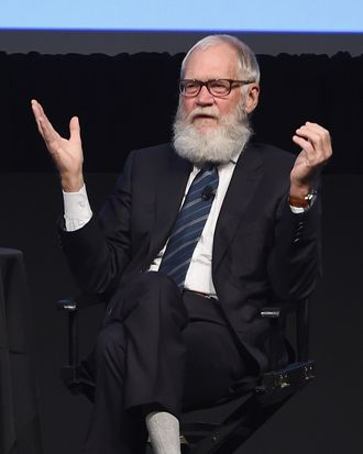 The New Yorker Festival 2016 - David Letterman Talks With Susan Morrison