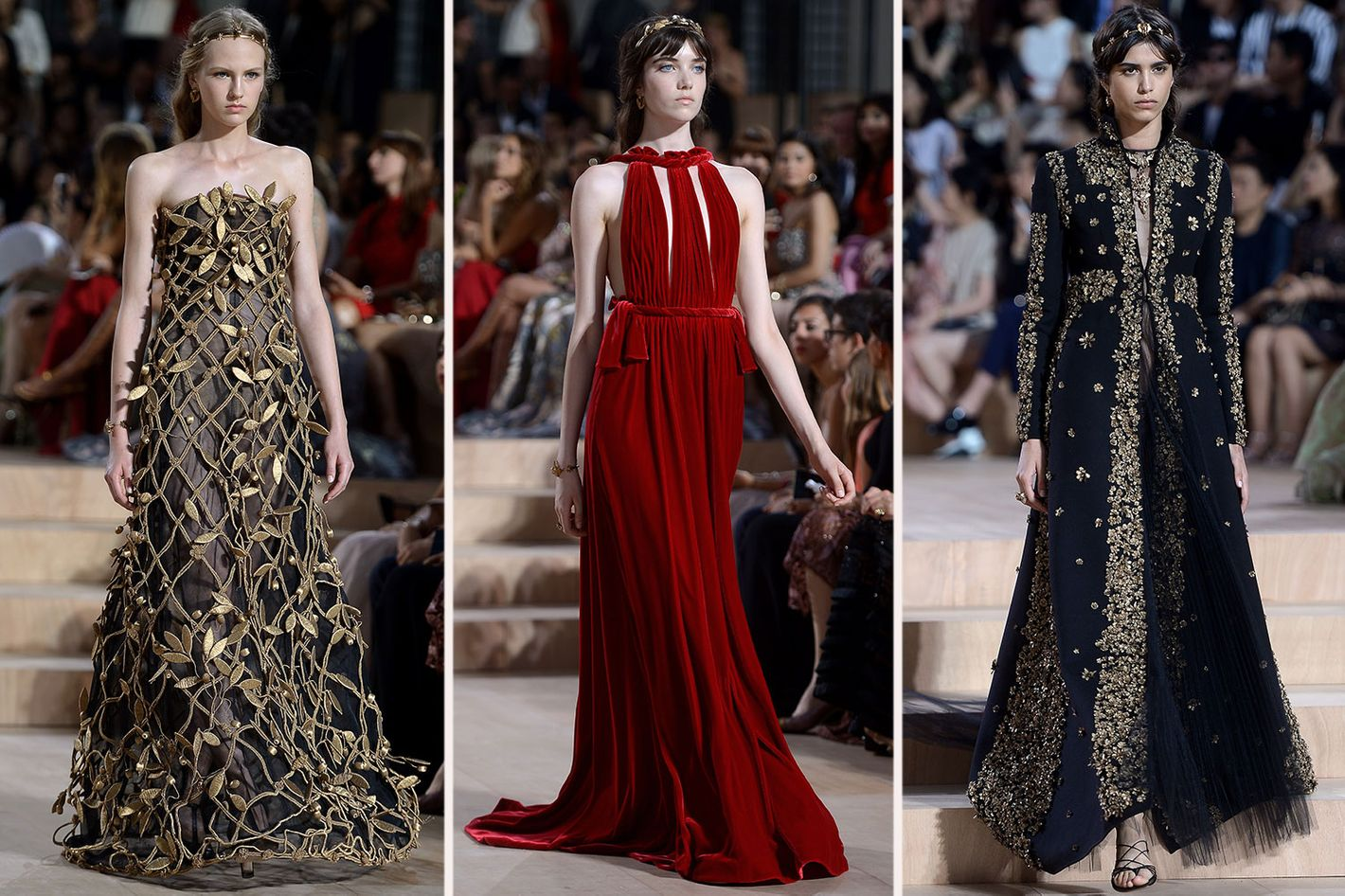 Valentino\'s Couture Show Was an Ode to Rome