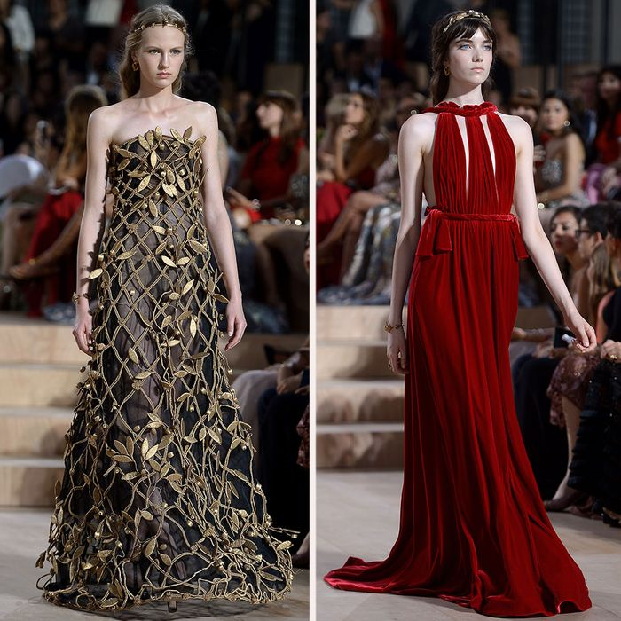 Valentino's Couture Show Was An Ode To Rome