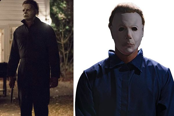 Rubie's Costume Halloween Movie Michael Myers Mask With Wig
