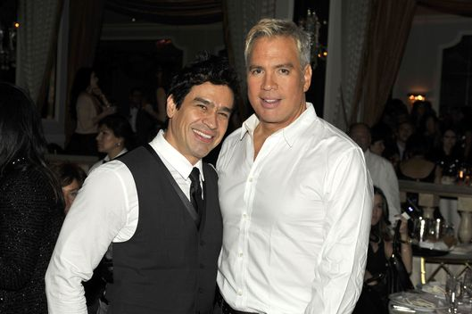 Alex Cespedes, Robert Duffy at MARC JACOBS After Party,Pierre,  NYC==February 13, 2012.