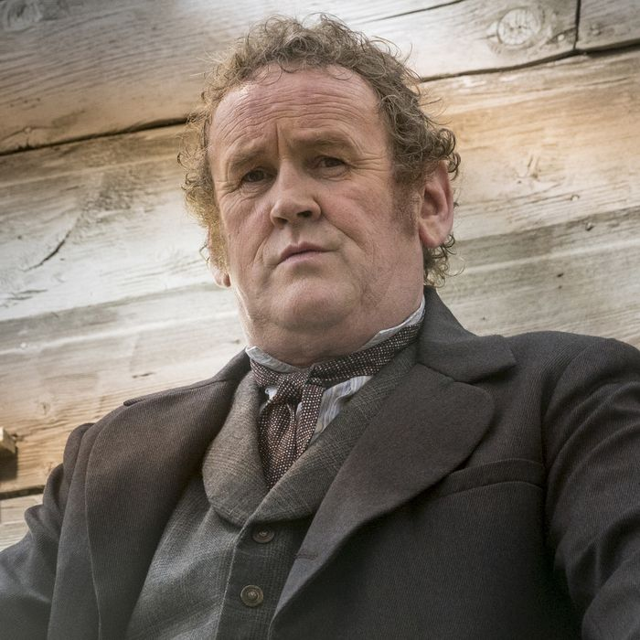 Colm Meany as Thomas 'Doc' Durant- Hell on Wheels _ Season 5, Episode 10 - Photo Credit: Michelle Faye/AMC
