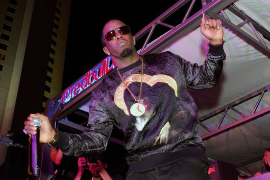 "Recording artist Sean ""Diddy"" Combs performs during the Fight Night After-Party at the Palms Casino Resort on May 4, 2013 in Las Vegas, Nevada."