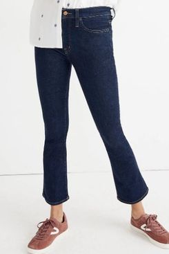 Madewell Cali Demi-Boot Jeans in Lucille Wash