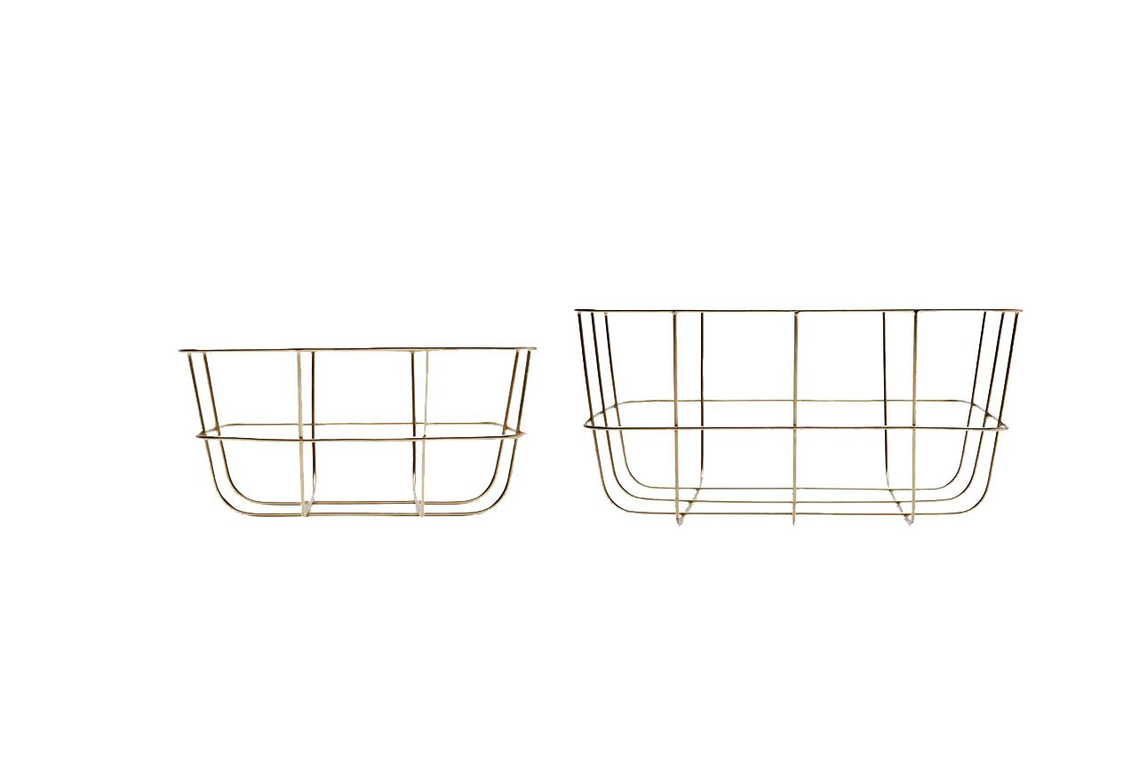 Base 212 Set of Two Wire Baskets