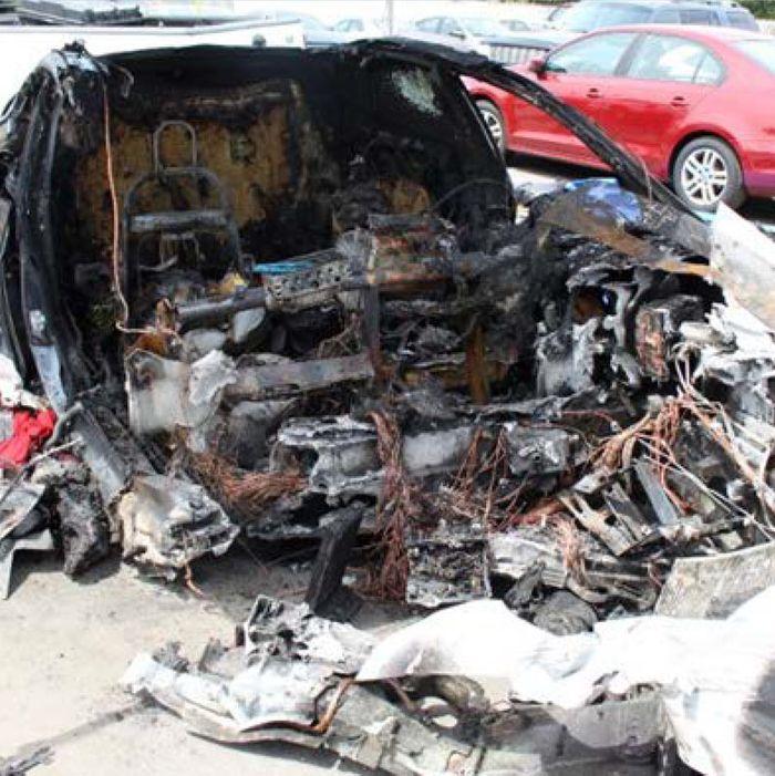 Tesla Model S Battery Ignites Twice Following Fatal Crash