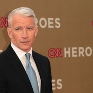 LOS ANGELES, CA - DECEMBER 11: Television reporter Anderson Cooper attends the CNN Heroes: An All-Star Tribute at The Shrine Auditorium on December 11, 2011 in Los Angeles, California.  (Photo by Frederick M. Brown/Getty Images)
