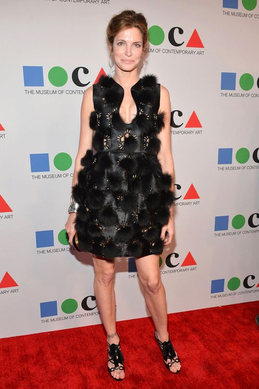 LOS ANGELES, CA - APRIL 20: Model Stephanie Seymour attends ?Yesssss!? MOCA Gala 2013, Celebrating the Opening of the Exhibition Urs Fischer, at MOCA Grand Avenue and The Geffen Contemporary on April 20, 2013 in Los Angeles, California.  (Photo by Alberto E. Rodriguez/Getty Images for MOCA)
