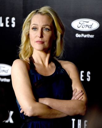 Gillian Anderson Won't Put Up ...