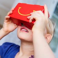McDonald's Latest Happy Meal Is a Virtual-Reality Headset