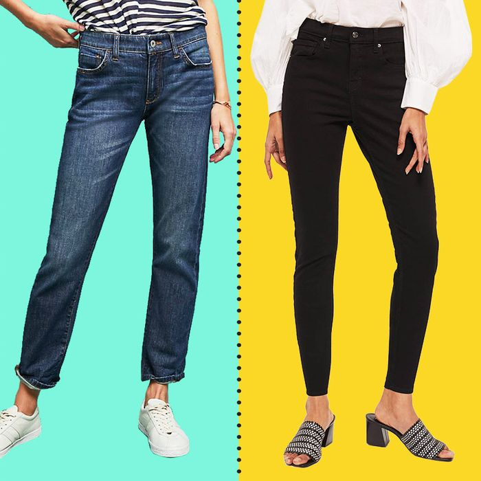 576c7938e3de44 The Best Petite Jeans and Pants I've Found (and I'm Under 5 Feet)