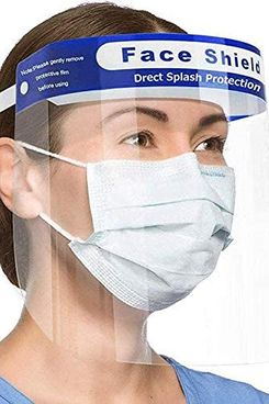 Unisex Safety Face Shields, Two-Pack