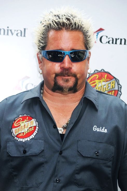 Guy Fieri and George Lopez at the Carnival Cruise Lines Press Conference in New York City. <P> Pictured: Guy Fieri  <P> <B>Ref: SPL320359  031011  </B><BR/> Picture by: Splash News<BR/> </P><P> <B>Splash News and Pictures</B><BR/> Los Angeles:	310-821-2666<BR/> New York:	212-619-2666<BR/> London:	870-934-2666<BR/> photodesk@splashnews.com<BR/> </P>