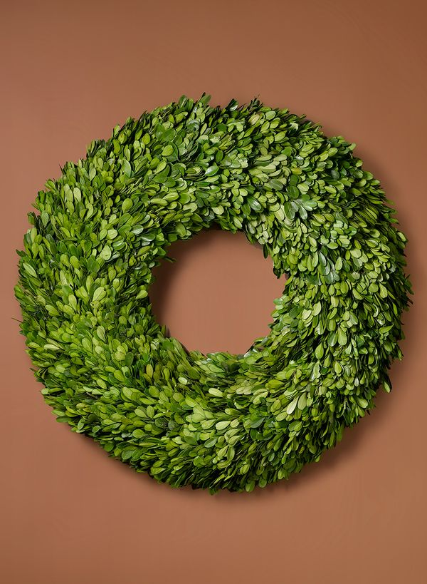 18-Inch Preserved Boxwood Wreath