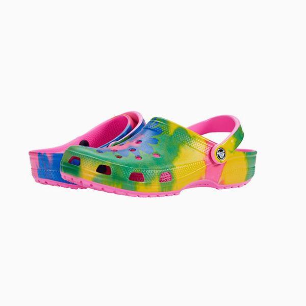 Crocs Classic Tie-Dye Graphic Clog