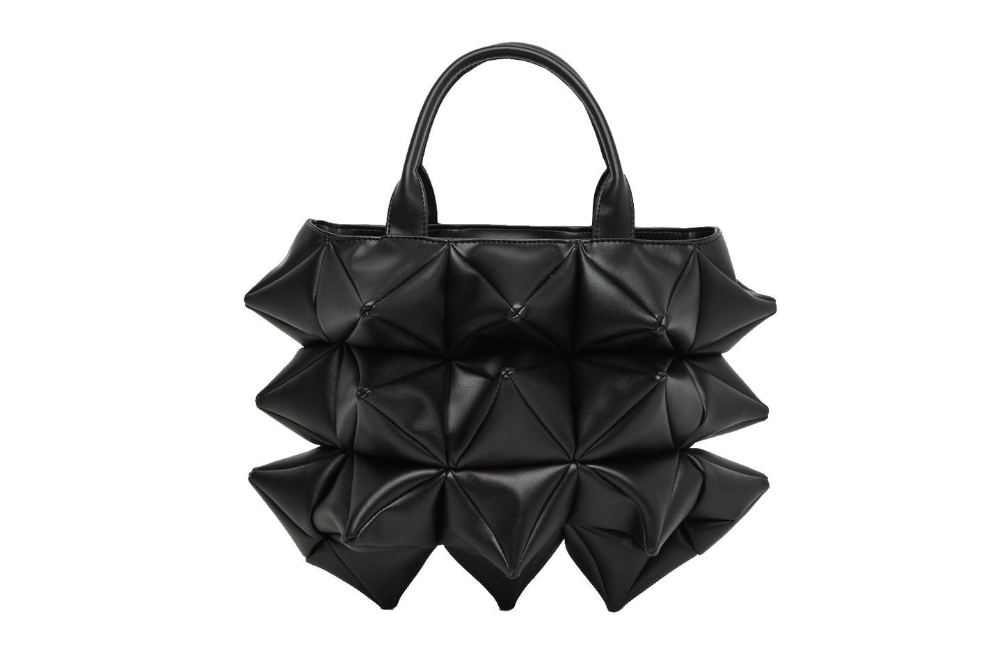 Junya Watanabe Spiked Top-Handle Bag