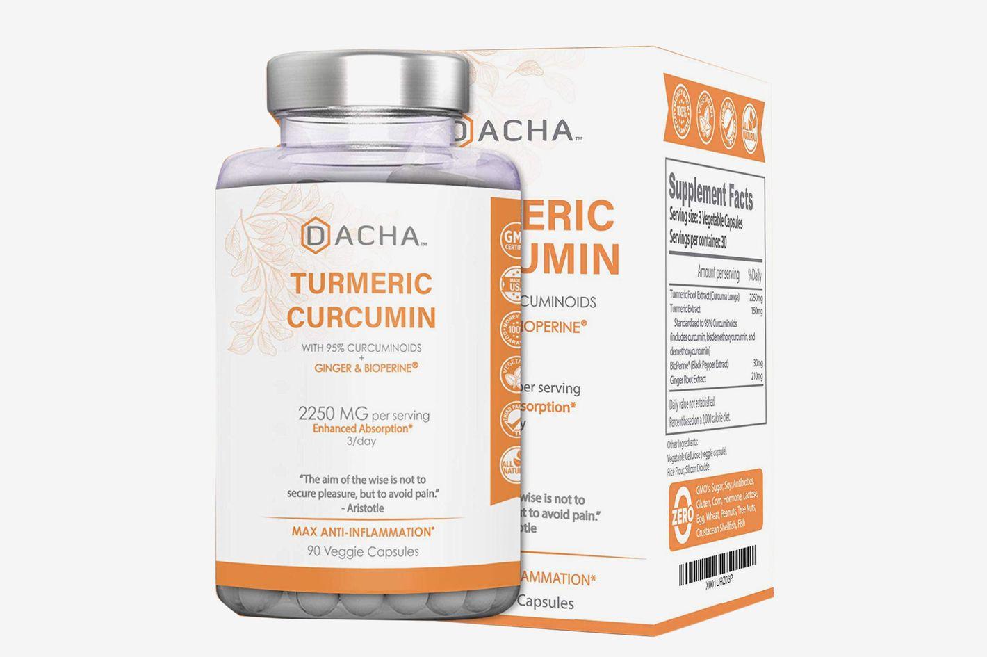 DACHA Nutrition Tumeric Curcumin Supplement