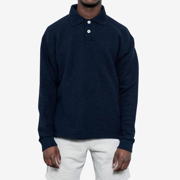 Paa Long-Sleeve Polo Sweatshirt