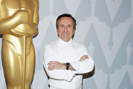 Chef Daniel Boulud attends The Academy of Motion Picture Arts and Sciences Official Oscar night viewing party and dinner at DANIEL on March 2, 2014 in New York City.