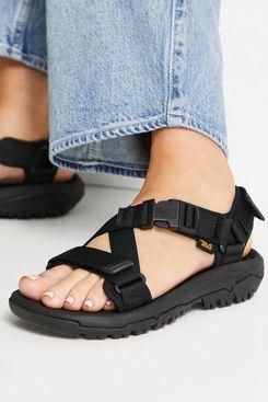 Teva Hurricane Verge Chunky Buckle Sandals in Black