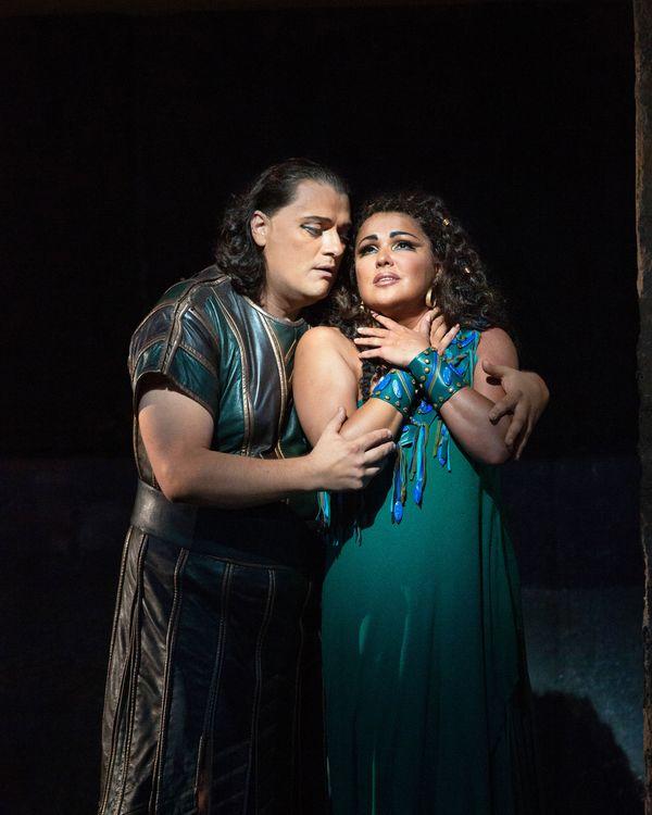 Opera review anna netrebko an old style diva in aida - Anna netrebko casta diva ...