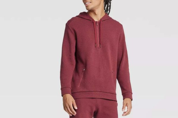 Target All in Motion Men's Premium Fleece 1/4 Zip Hoodie
