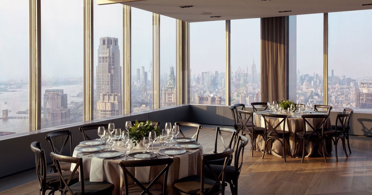 New Private Dining Rooms In New York City