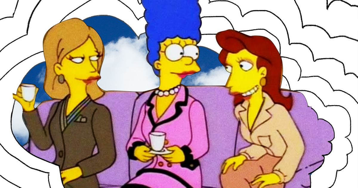 I Think About This a Lot: Marge Simpson's Pink Chanel Suit