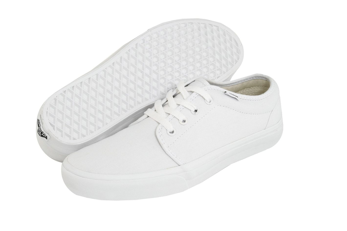 Cheap All White Vans Shoes