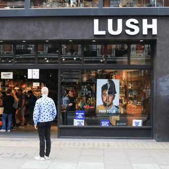 Lush store.