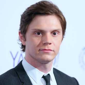 Actor Evan Peters attends PALEYFEST LA 'American Horror Story: Freak Show' at Dolby Theatre on March 15, 2015 in Hollywood, California.