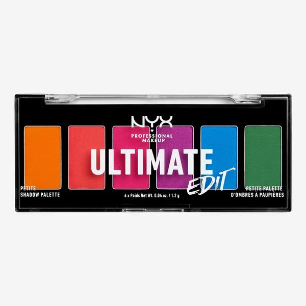 NYX Professional Makeup Ultimate Edit Petite Shadow Palette - Brights