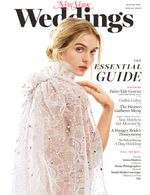 Cover of New York Magazine's Winter 2016 Wedding issue