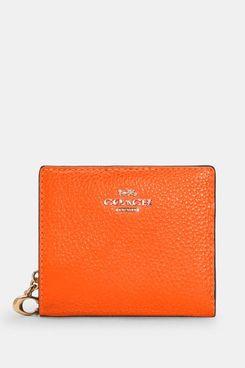 Coach Snap Wallet in Colorblock