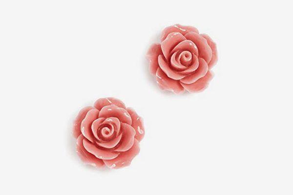 Theia Jewelry Women's Camellia Earrings