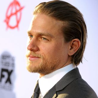 Actor Charlie Hunnam attends the season 6 premiere of FX's