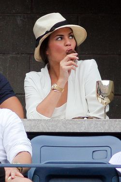 Chrissy Teigen, at last year's Open.