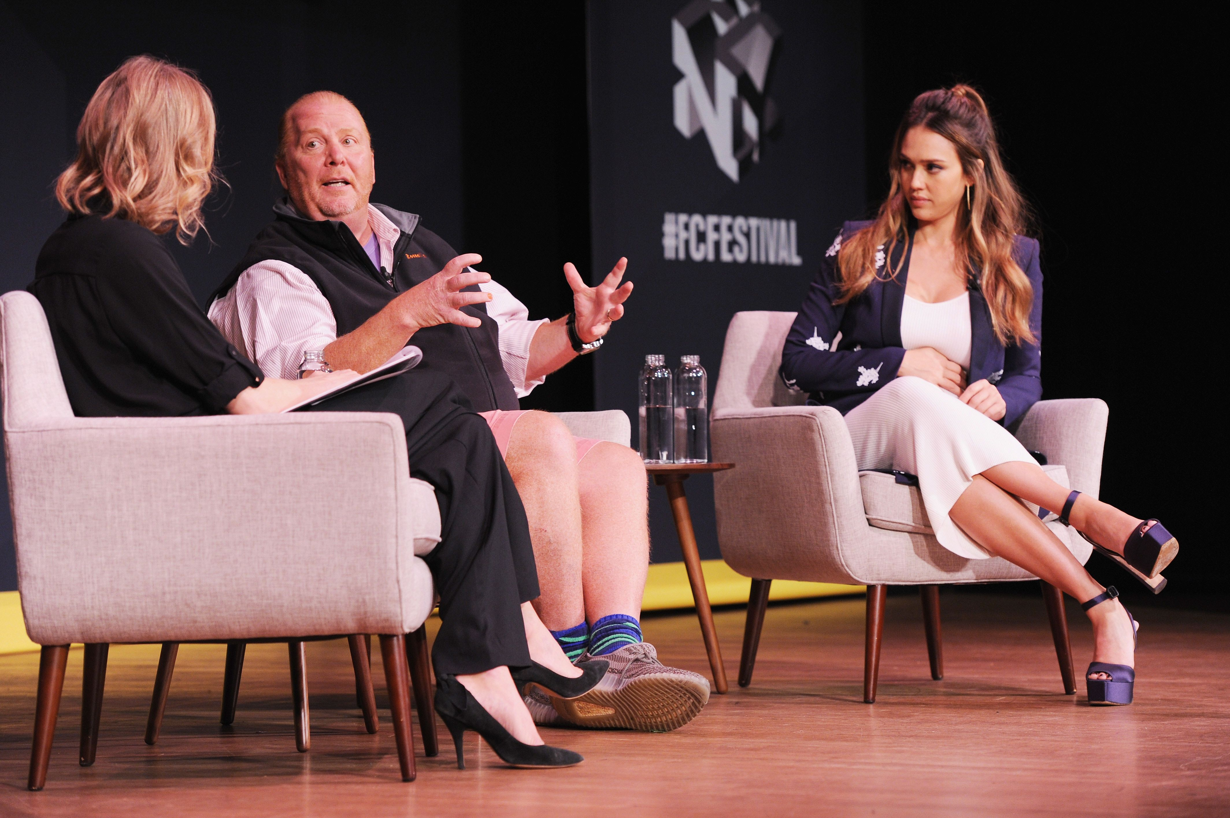 Fast Company Innovation Festival - Passion Play: How Jessica Alba And Mario Batali Created Multichannel Marvels