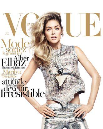 Doutzen Kroes for <em>Vogue Paris</em>.