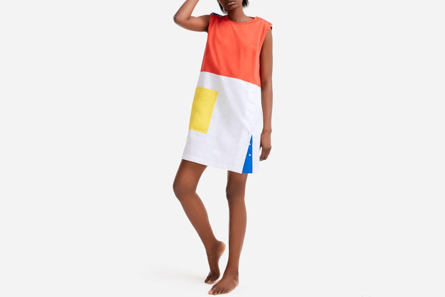 Multicolor Sleeveless Dress