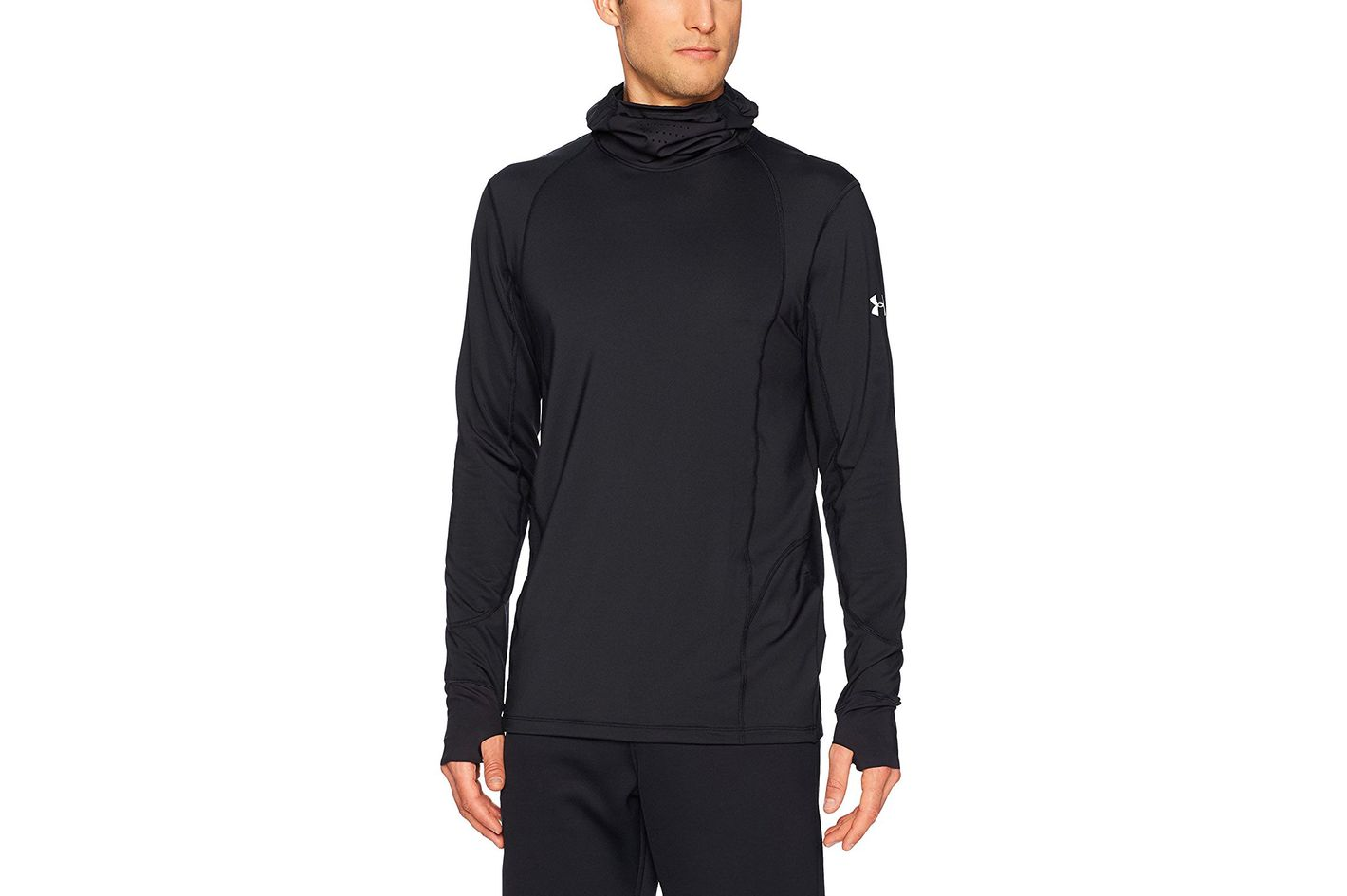 Under Armour Mens Coldgear Reactor Run Balaclava Hoodie