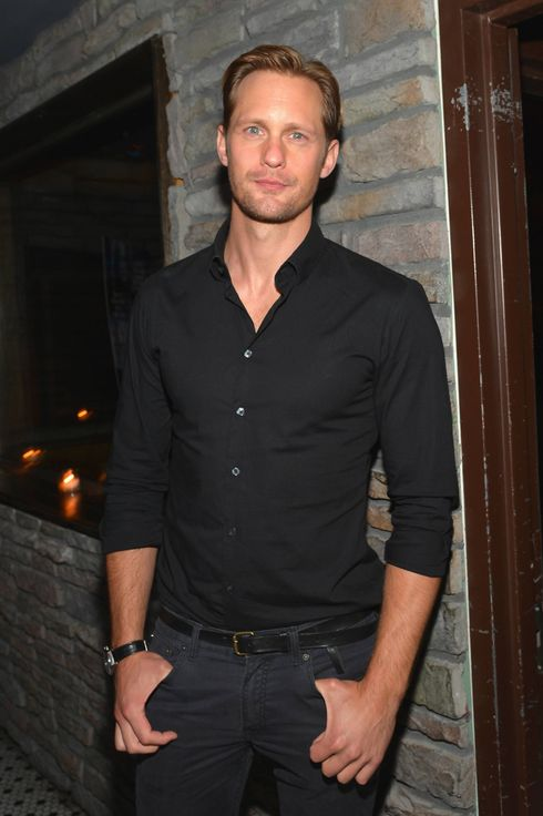 "Actor Alexander Skarsgard attends the after party of the New York Premiere of ""The East"" at Hotel Chantelle on May 20, 2013 in New York City."