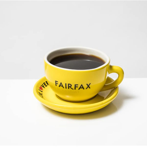 Fairfax Coffee Mug & Saucer