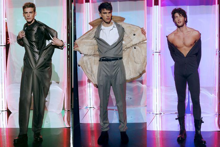Jean Paul Gaultier's fall 2013 menswear show.