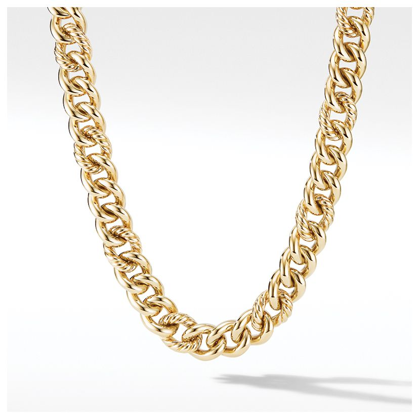 13.5mm Curb Chain Necklace