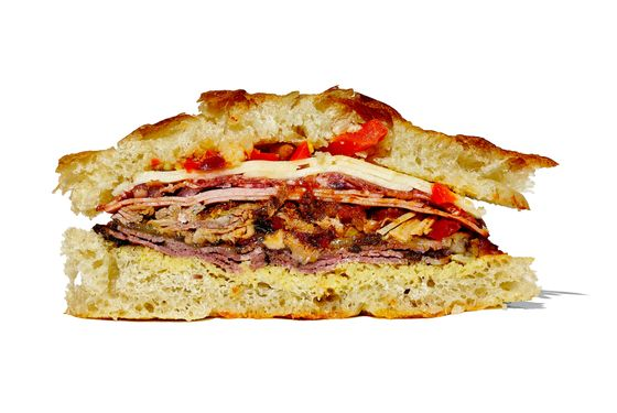 The Awfullotta, Dufresne's variation on the Mufaletta.