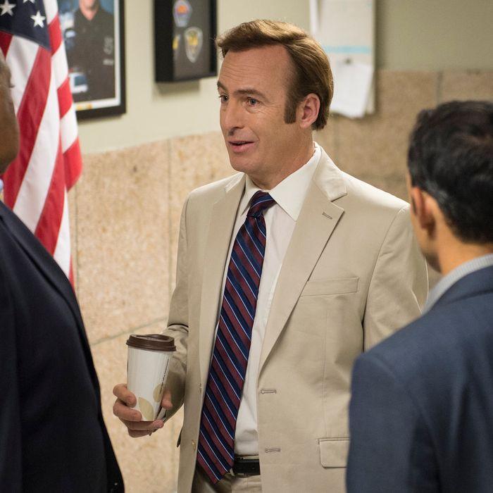 Bob Odenkirk as Jimmy McGill - Better Call Saul _ Season 1, Episode 6 - Photo Credit: Ursula Coyote/AMC