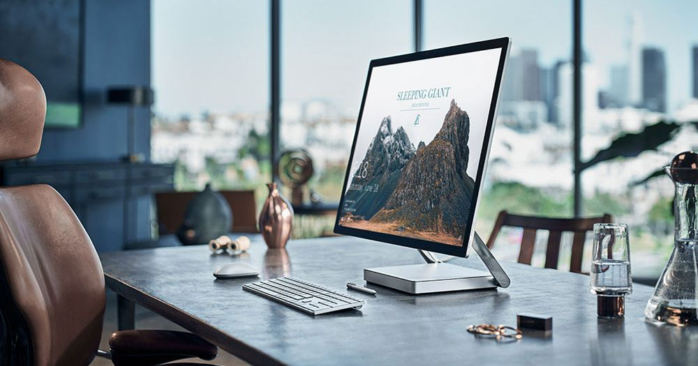 Microsoft Surface Studio Graphic Designers Wacom Tablets