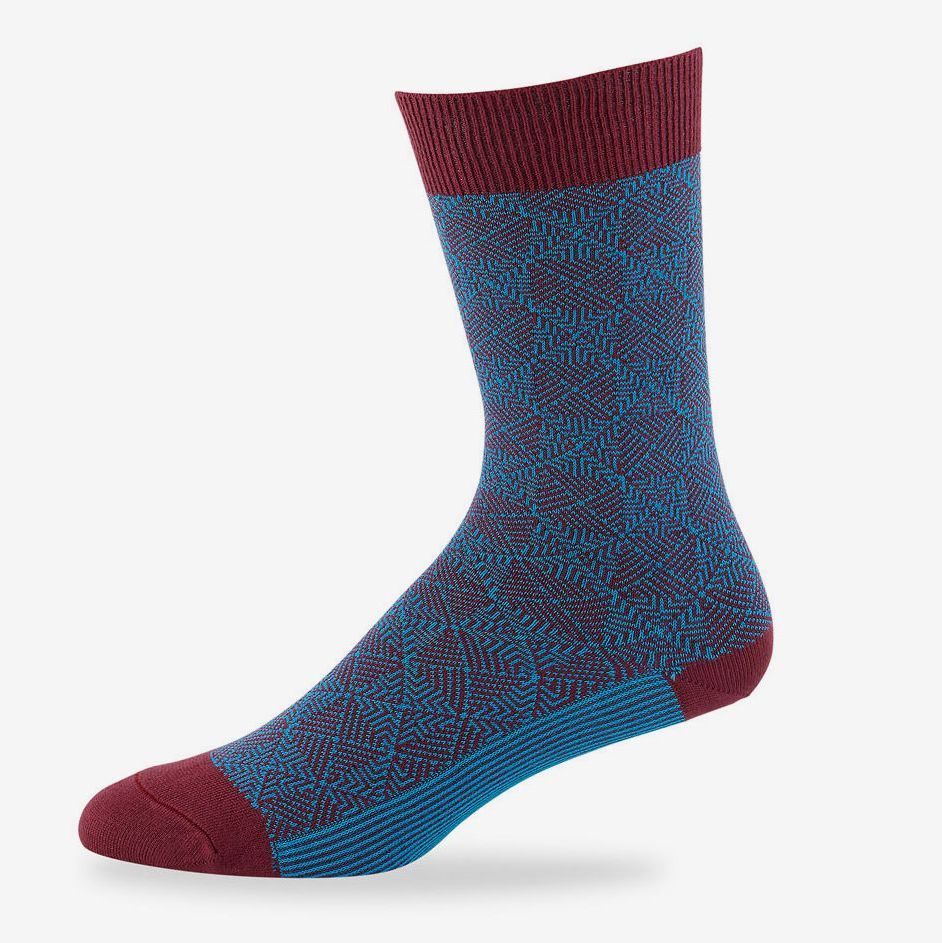 Blue Joe Browns Womens Socks in Mixed Patterns Pack of 3