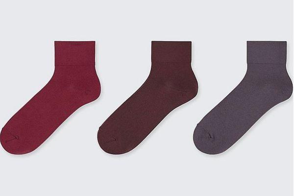 Women Taper Crew Socks (3 Pairs)